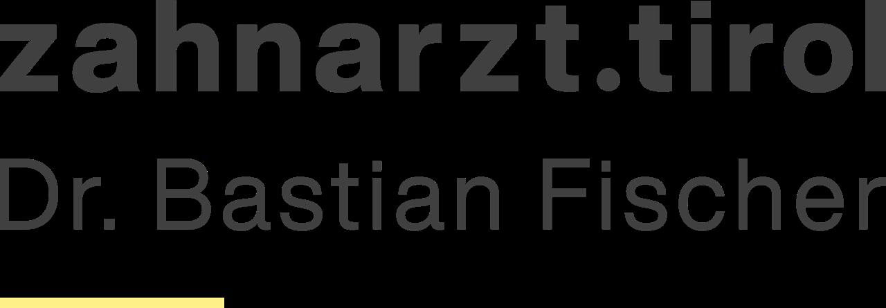 zahnarzt.tirol | Dr. Bastian Fischer Logo